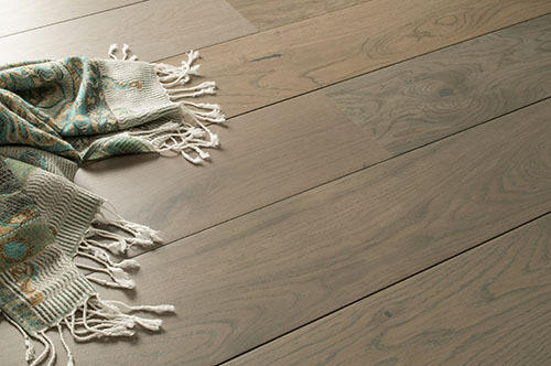 Grey Oiled Wooden Planks Flooring