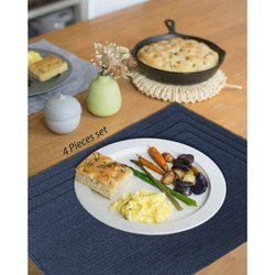 Cotton Blue Table Placemat