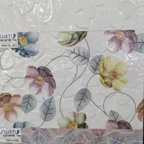Gera Glossy Kitchen Ceramic Wall Tiles, Thickness: 0-5 mm, Size: 20 * 80 In cm