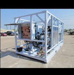 Semi- Automatic Standard High Flow Nitrogen Pump Unit