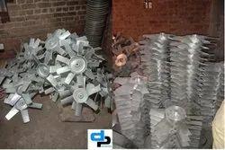Aluminum Impeller 8 Blade Dia 900 mm