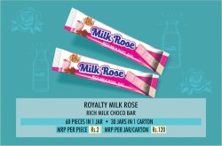 Milk Rose Choco Bar