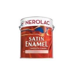 Smooth finish Nerolac Satin Enamel