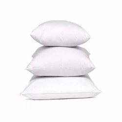 白色棉质枕头,尺寸:15x15cm