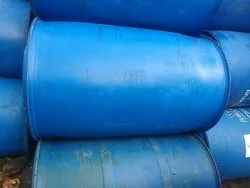 Chemicals Cylindrical Blue PVC Barrel 200 Litres, For Chemical Storage