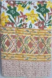 Hand Block Printed Single Bedsheet