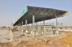 Toll Plaza Canopy Fabrication