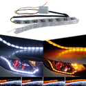 Universal Crystal Drl For Headlights set of 2pcs
