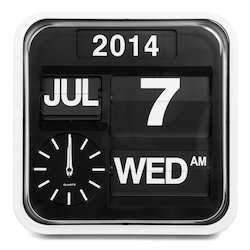 Calendar Wall Clocks At Best Price In India