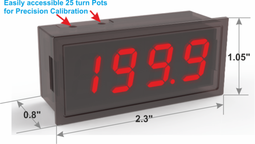 Digital Panel Meter - 3.5 Digit LED Module