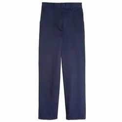 Mens Blue Formal Pants
