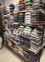 Shirts Display Racks for Garments