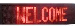 Electronic Display Board 40 m Viewing Distance, Warranty: 1 Year