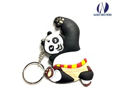 Wah Notion PVC Keyring Kung Fu Panda Chains For Kids Birthday Party Return Gift