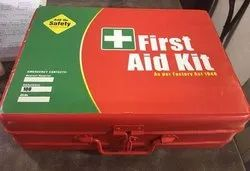 First Aid Kit With 22 Items As Per Factory Act 1948