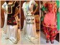 Ladies Party Wear Phulkari Suit Material