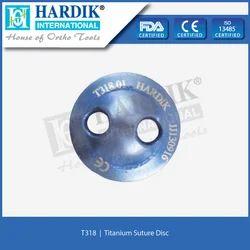 Suture Disc (Titanium)