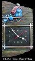 Rural Shades Terracotta Shri Krishna Wall Clock