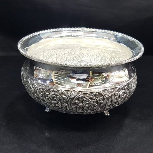 Antique Silver Bowl Rs 20600 1pc New