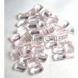 Rose Quartz Octagon Gemstone