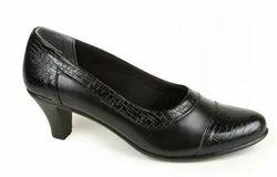Senorita Womens Black Formal Ballerina Shoes