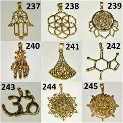 Brass Golden Pendants