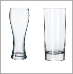 The One Transparent Drinking Glass, Capacity: 300 ml, For Hotel