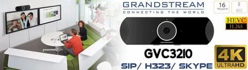Grandstream GVC3210 4k Video Conferencing Device For SIP H323 Skype Gotomeeting Zoom BlueJeans