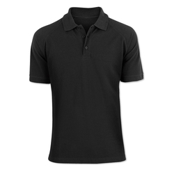 Black Polo T- Shirt