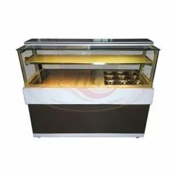 Toffee Brown Square Snack Counter Korean Model, For Commercial, Power Consumption: 230 Watts