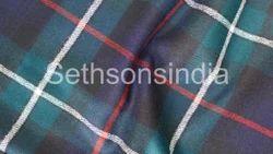 Multicolor Tartan Check Fabric, for Garments