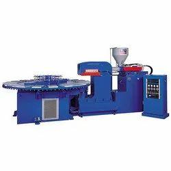 Semi Automatic Three Phase Shoe sole moulding machine