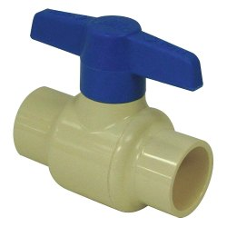CPVC Two Pc Ball Valve