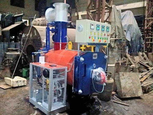 Oil Fired Hot Water Boiler, Hot Water Boiler System, हॉट वॉटर ...