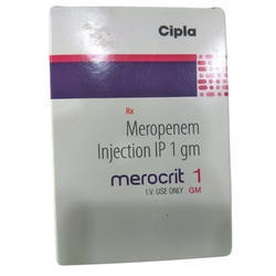 Merocrit Meropenem Injection IP 1 Gm