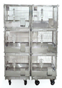Trolley With Inbuilt Rabbit Cages - Add On Type