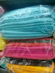 Vishnu Textile Casual Wear Plain Garment Cotton Fabric, For Garments, GSM: 200