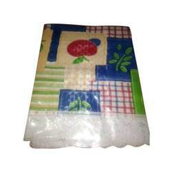 Fruit Printed Plastic Table Cover