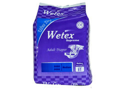 Wetex Supreme Adult Diaper M (10 Pcs Pack), For 31-44 Inch