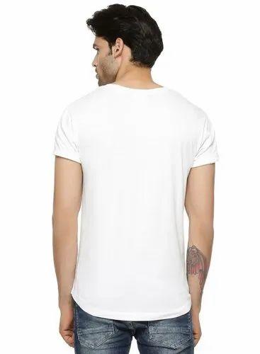 White Half Shirt Design