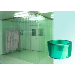 PVC Strip Plain Ganik Anti Static Curtain, For Door, Thickness: 0.25 Mm - 5 Mm
