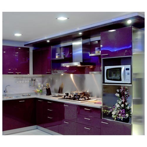 Modular Kitchens Designer Purple Kitchens Manufacturer