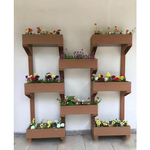 Rectangular Brown Wall Mounted Planter Box Rs 26000 Piece Id