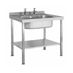 SS Single Bowl Table Sink