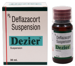 Deflazacort 6mg/5ml (Dezier Suspension)