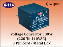 K-114 Step Down Voltage Converter (500 W)