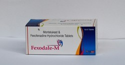 Fexofenadine HCL 120mg Montelukast 10mg Tablets