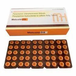 Paracetamol Chlorpheniramine Maleate Phenylephrine Hydrochloride And Caffeine Anhy Tablets