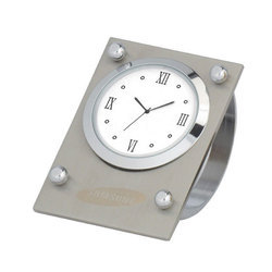 Metallic Table Clock