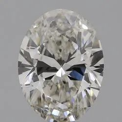 Oval Cut CVD Diamond 1.64ct I VS1 IGI Certified